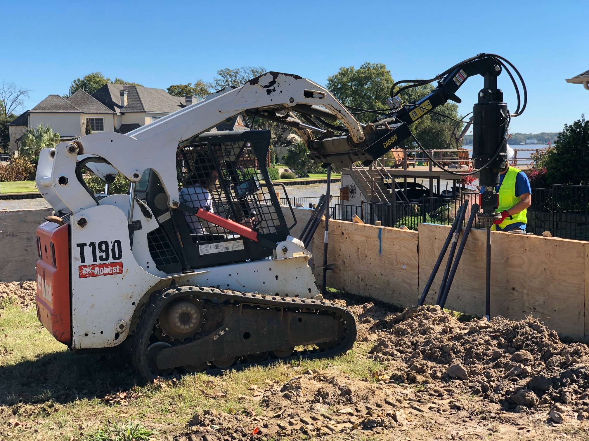 Helical Pile Installation - Austin New Construction | Texas